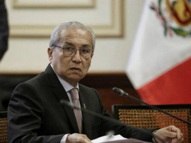 Pedro Chávarry presentó denuncia constitucional contra PPK, Carlos Bruce y Mercedes Aráoz