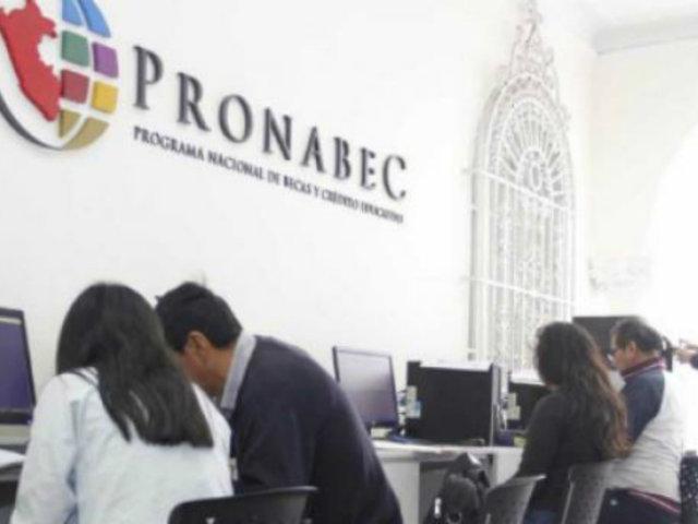 Pronabec aumenta a 8 mil becas para estudiantes de universidades públicas