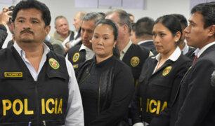 Keiko Fujimori permanecerá en prisión preventiva por 36 meses