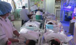 Hospital Regional del Cusco: área de neonatología colapsa y recién nacido pierde la vida