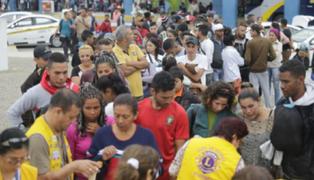 Otro grupo de venezolanos regresó a su país en movilidad pagada por Nicolás Maduro