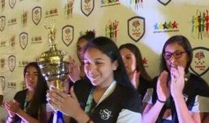 USIL es campeón de vóley femenino en los juegos universitarios