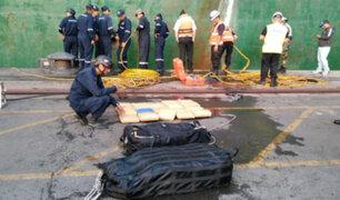 Callao: incautan más de 130 kilos de marihuana a bordo de buque