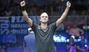 Peruano venció al número uno de squash en Catar
