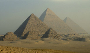 Descubren cómo los antiguos egipcios movían grandes bloques para construir las pirámides