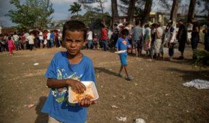 Unicef: alrededor de 2,300 niños viajan en caravana migratoria