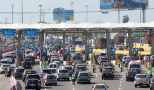 Miles escapan de Lima por fin de semana largo