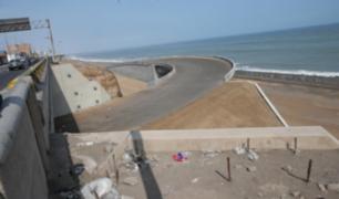 Culminación de obras de Costa Verde del Callao volvió a ser pospuesta