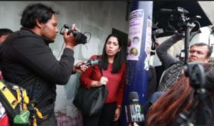 Keiko Fujimori recibió visita de congresistas en el penal de Chorrillos