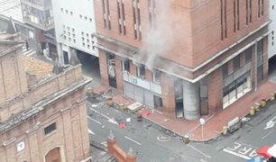 Colombia: explosiones en sede de la Fiscalía de Cali generaron alarma