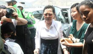 Tercer día de reclusión: Keiko Fujimori recibe visita de su familia