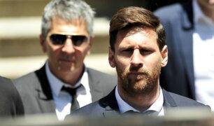 Lionel Messi y su padre son investigados por lavado de dinero
