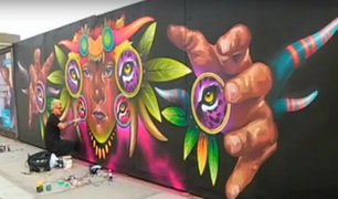Grafiti, Skate y piruetas en moto invaden Lima con el movimiento urbano 'Mos' Perú