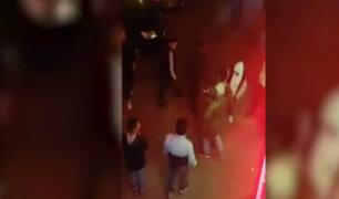 Zárate: cámaras registran robo contra hombre en aparente estado de ebriedad