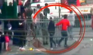 Ambulantes nuevamente toman calles de Gamarra