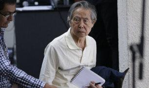 Ordenan pericia del Instituto Medicina Legal para evaluar si Alberto Fujimori regresa a penal