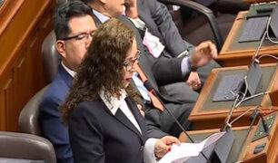 Rosa Bartra sustentó parte del informe final de la Comisión Lava Jato