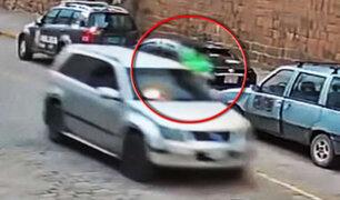 Dictan prisión preventiva contra conductor que arrastró a policía en el Cusco