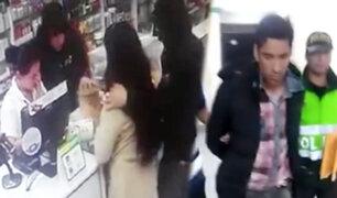 Capturan a un peligroso asaltante de farmacias en Comas