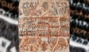 Obra de arte inspirada en la 'frazada de tigre' gana concurso del BCR