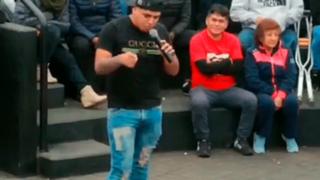 Indignación por cómico ambulante que hace apología a la violencia contra la mujer