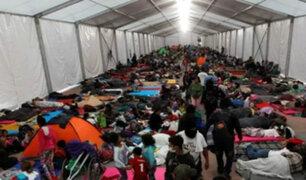 México: albergue en Ciudad de México está al límite de su capacidad