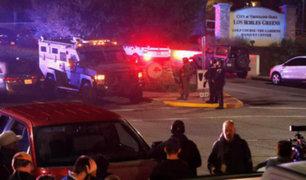 EEUU: al menos 12 muertos deja tiroteo en bar de California