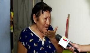 Chorrillos: mujer que fue secuestrada para robarle sospecha de inquilinos morosos