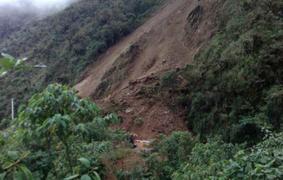 Huaico deja hasta el momento un muerto y dos desaparecidos en Huánuco