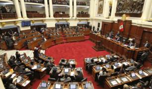 Debate del informe final de Comisión Lava Jato será reanudada este viernes