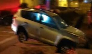 San Borja: obras de Sedapal ocasionan accidentes y molestias a vecinos y transeúntes
