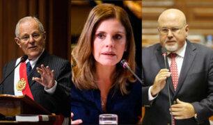 Congresistas se pronuncian por denuncia de Fiscal Chavarry a PPK, Aráoz y Bruce