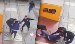 Mujer policía es asaltada violentamente por cuatro delincuentes en San Martín de Porres