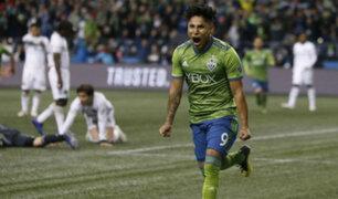 Doblete de Ruidíaz casi metió a los Sounders a final de la MLS