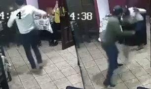 Trujilo: policía es baleado al frustrar asalto en una pizzería