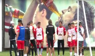 Selección Peruana continúa trabajos para amistosos con Ecuador y Costa Rica
