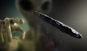 """Astrónomos rebaten que """"Oumuamua"""" pueda ser una nave extraterrestre"""