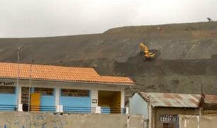 Gobierno ejecuta plan para solucionar contaminación en Cerro de Pasco