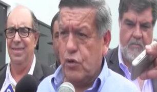 César Acuña declaró ante Fiscalía por presunto Lavado de Activos