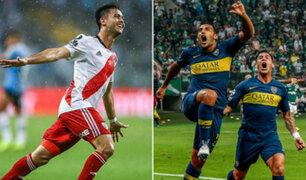 Todo está listo para el superclásico en la Copa Libertadores