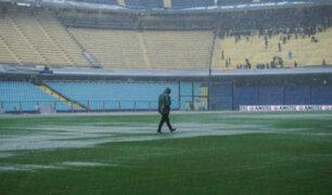 Final de la Libertadores entre Boca y River se suspendió por fuertes lluvias