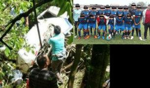Amazonas: bus que trasladaba a menores cayó a un abismo