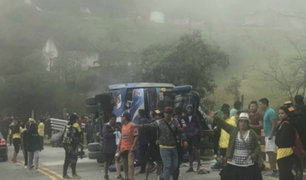Cuatro hinchas fallecen rumbo al partido entre Boca y River