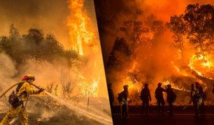 EEUU: se elevan a 31 los muertos por incendio forestal de California