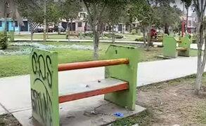 Carabayllo: denuncian que parque donde murió joven ha sido tomado por la delincuencia
