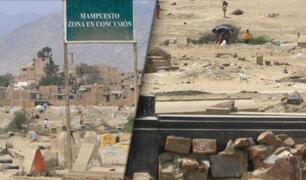 Trujillo: traficantes de terrenos invaden cementerio de Mampuesto