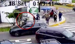 "Peligrosos ""Marcas"" roban 29 mil soles a cambista en Surco"