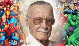 Stan Lee, el genio del cómic, falleció a los 95 años