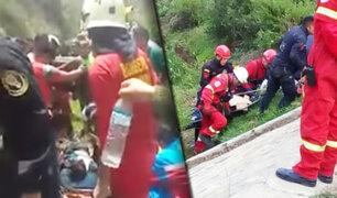 Caída de vehículo a abismo deja al menos 7 muertos en Amazonas