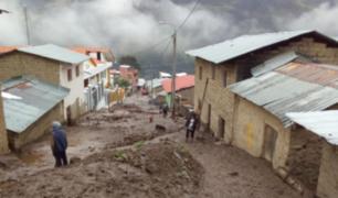 Cusco: más de 30 familias lo pierden todo tras huaico en Paucartambo